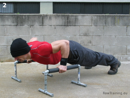 Parallette Push-Up 2