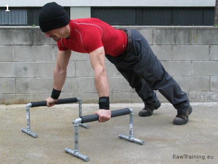 Parallette Push-Up